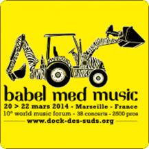 image Stand à Babel Med Music 2014